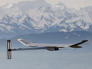 Solar Impulse - alps